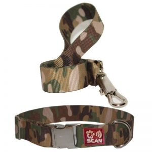 Metal buckle Camouflage Collar+SNQiT